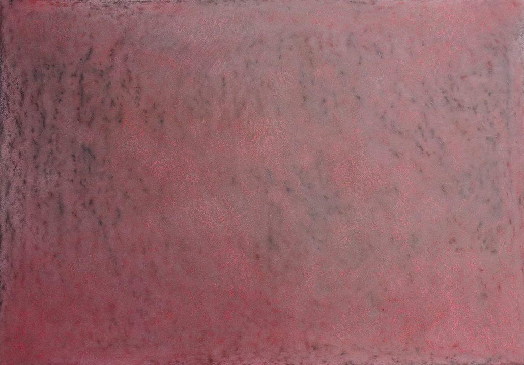 Felix Thyes, Herbst - Verbrannte Erde (aus 4 Jahreszeiten), 2012, Wachs/Pastell, 70x100cm