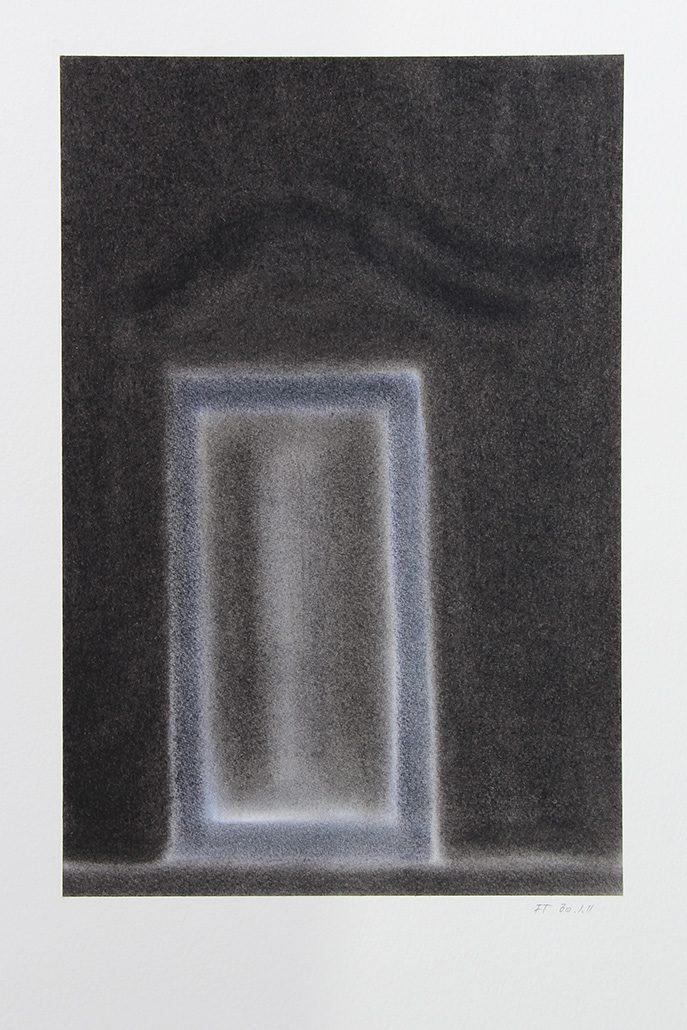 Felix Thyes, Scheintor 4, 2011, Pastell auf Papier, 24 x 36 cm (Blatt 36 x 48 cm)