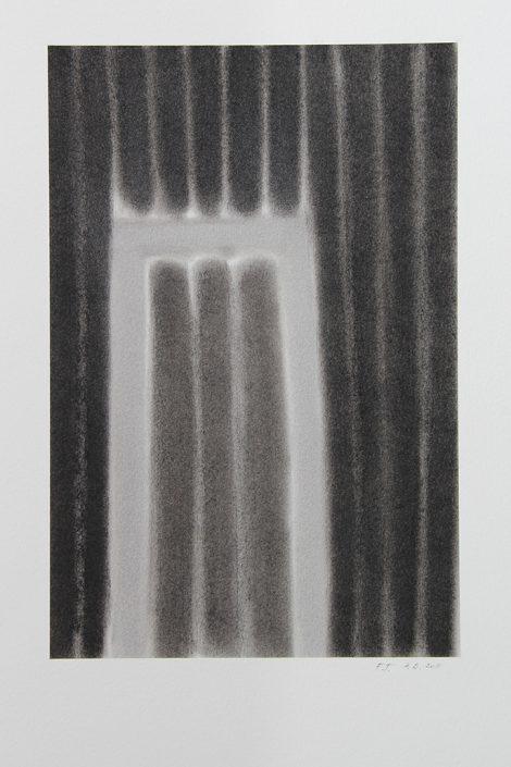 Felix Thyes, Scheintor 5, 2011, Pastell auf Papier, 24 x 36 cm (Blatt 36 x 48 cm)