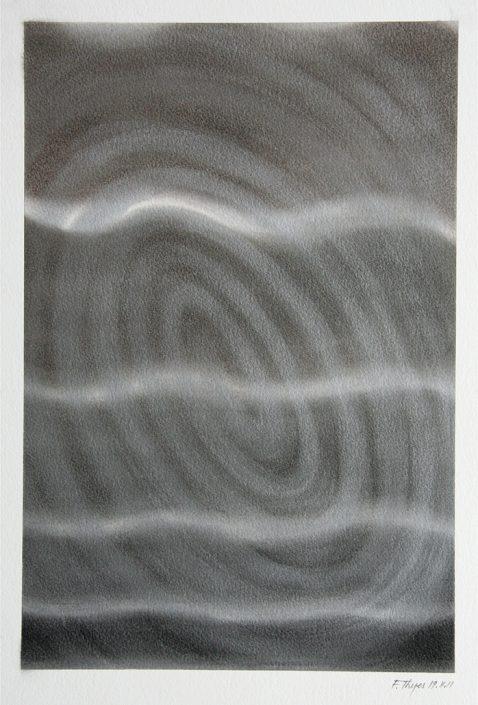 Felix Thyes, Ohne Titel, 2011, Pastell auf Papier, 24 x 36 cm (Blatt 36 x 48 cm)