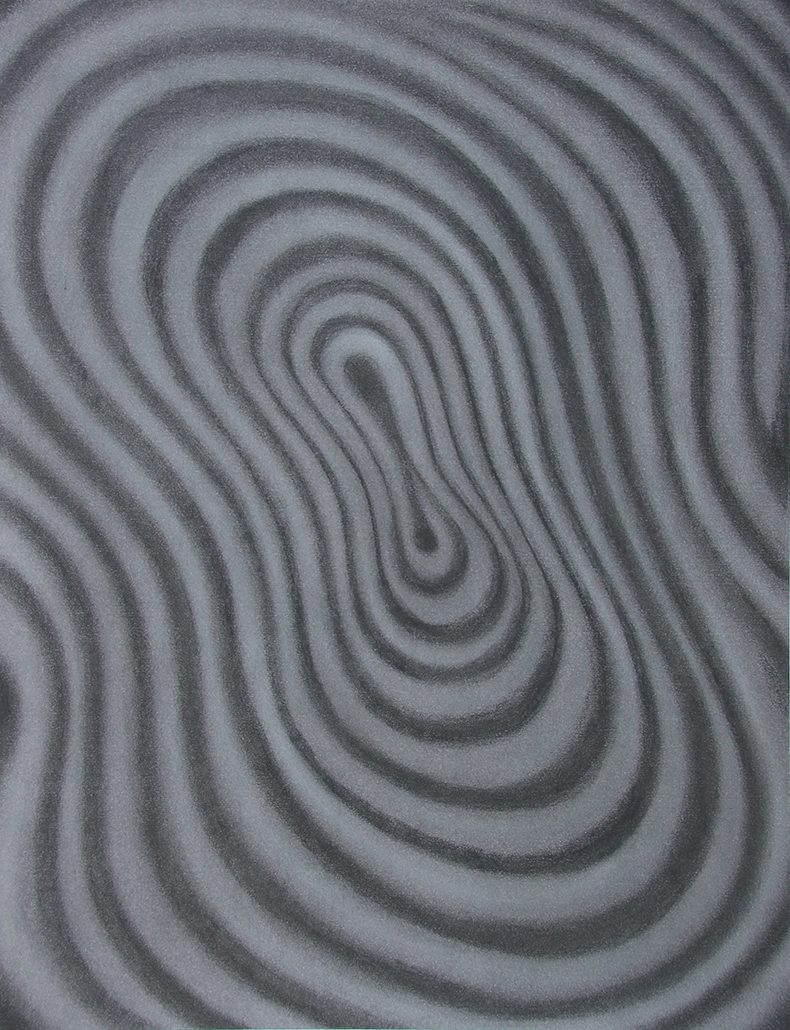 Felix Thyes, Sirenengesang, 2013, Pastell auf Papier, 50 x 65 cm