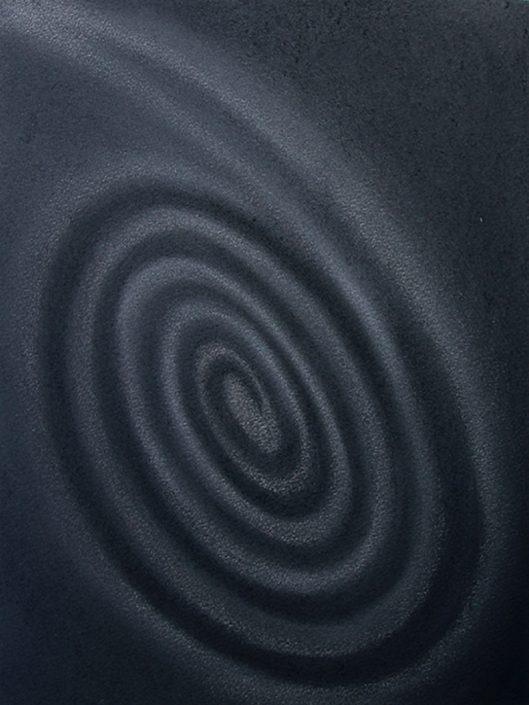 Felix Thyes, Black Beauty, 2013, Pastell auf Papier, 36 x 48 cm