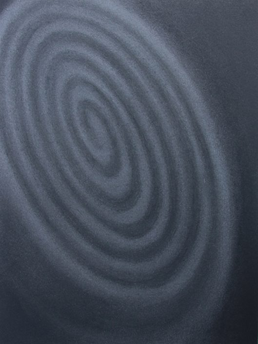 Felix Thyes, Grey Beauty, 2013, Pastell auf Papier, 36 x 48 cm