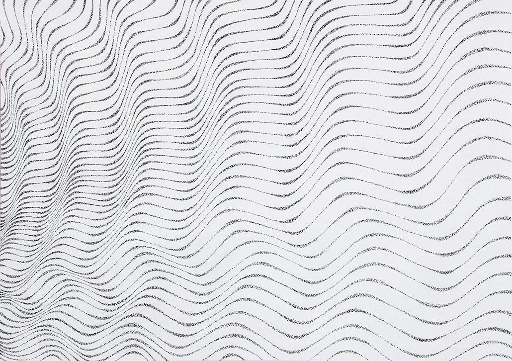 Felix Thyes, ohne Titel, 2015, Tusche auf Papier (gepünktelt), 29,7 x 42 cm