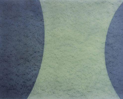Felix Thyes, Wanderschatten, 5-teilig, 3, 2013, Graphit und Pastell auf Papier, je 36 x 48 cm