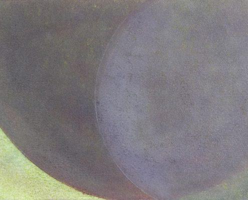 Felix Thyes, Wanderschatten, 9-teilig, 5, 2017, Graphit und Pastell auf Papier, je 21 x 30 cm