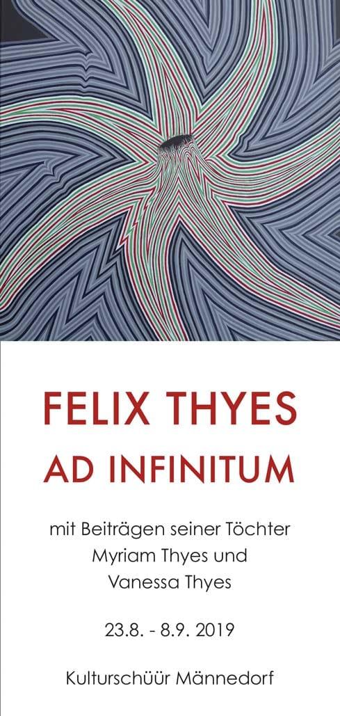 Felix Thyes, Ad Infinitum, Ausstellung Kulturschüür 2019